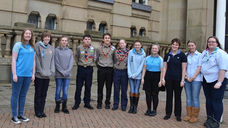 Scouts and Senior Section