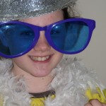 Dressing up and making costumes for the photo booth was a firm favourite with the girls!